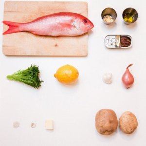french cuisse pan seared red snapper ingredients