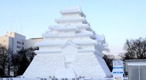 hikone castle snow fastival sapporo