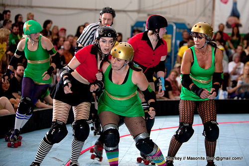 Top advice for roller derby newbies