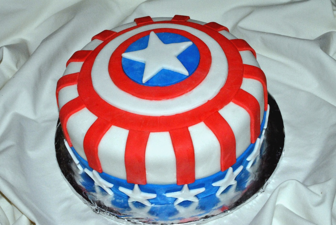 Captain America Kuchen Captain America Cakes Decoration Ideas Little Birthday Cakes