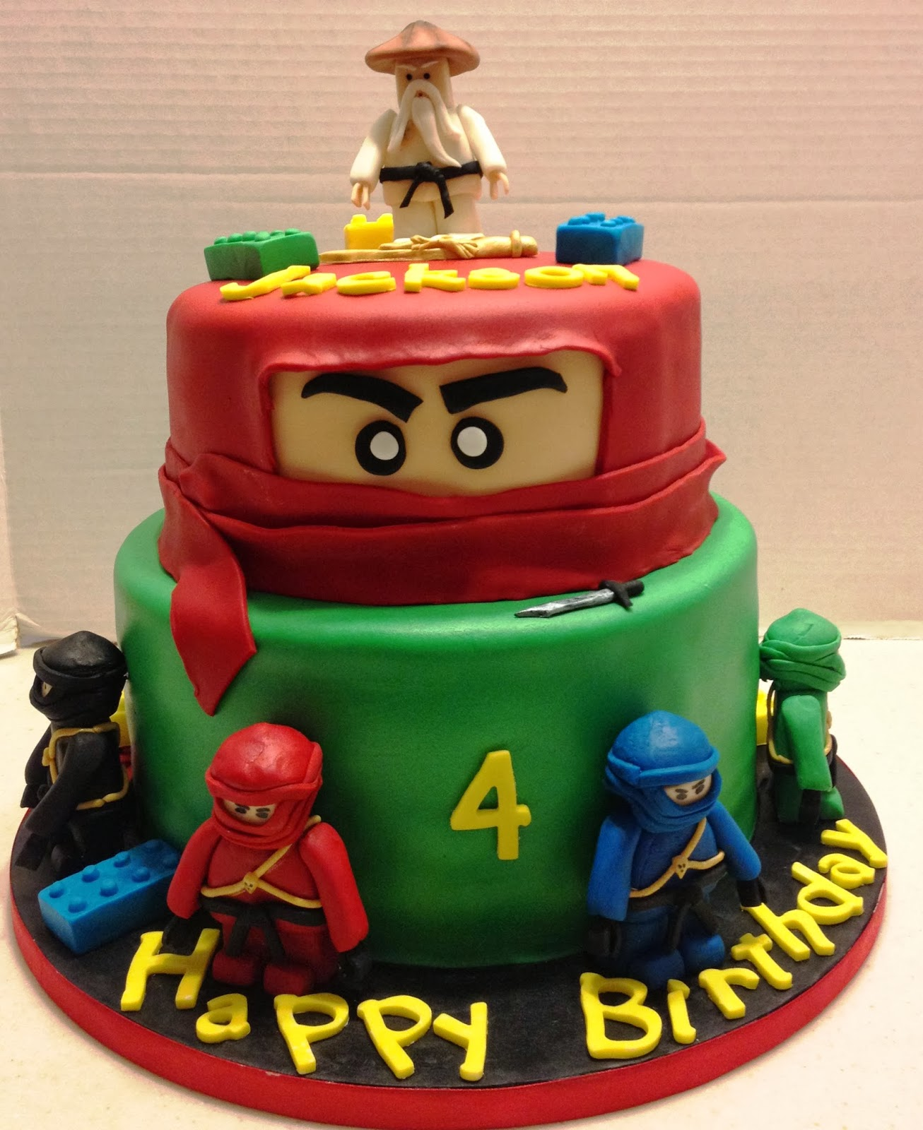 Ninjago Cakes Decoration Ideas Little Birthday