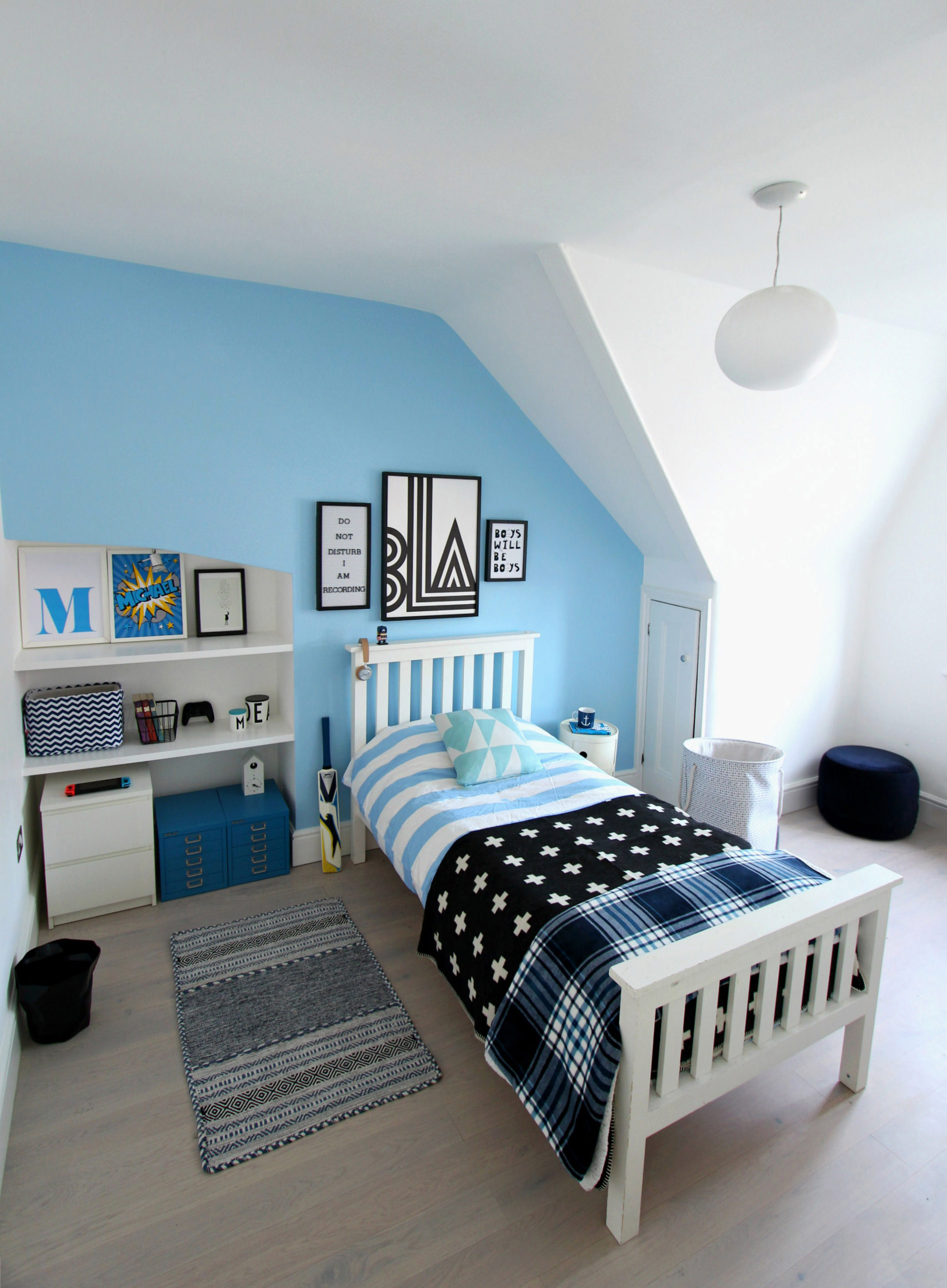 Teen Bedroom Ideas Littlebigbell Teen Bedroom Ideas In Blue On A Budget With Homesense