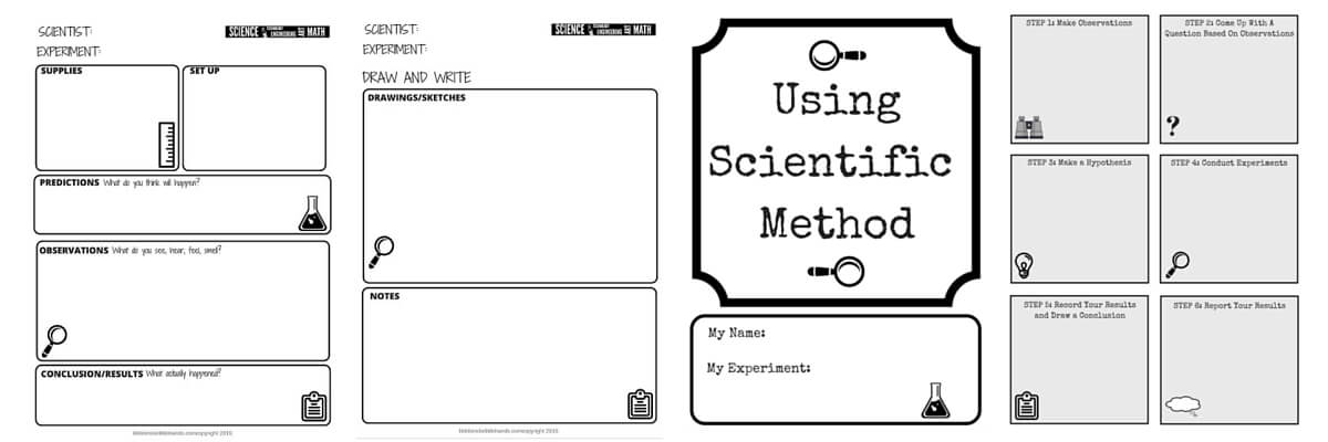 Stem Challenge Worksheets Free Printable Little Bins