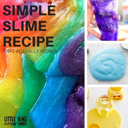 Super Simple Slime Recipe (That Actually Works!)