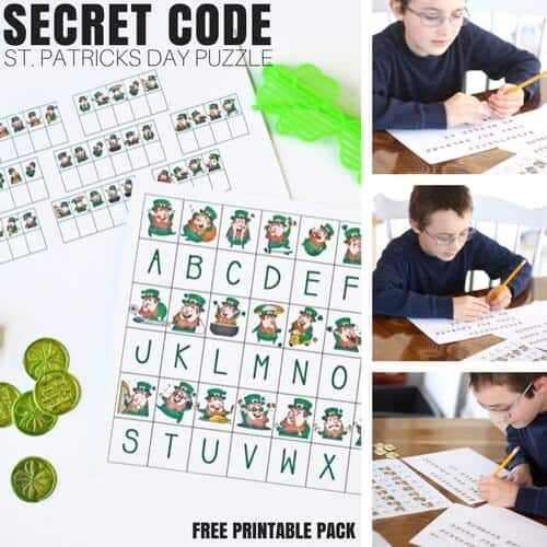 Printable St Patricks Day STEM Activities for Kids (FREE)