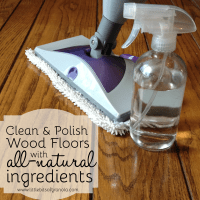 DIY Wood Floor Cleaner and Polish - Kristy's Cottage