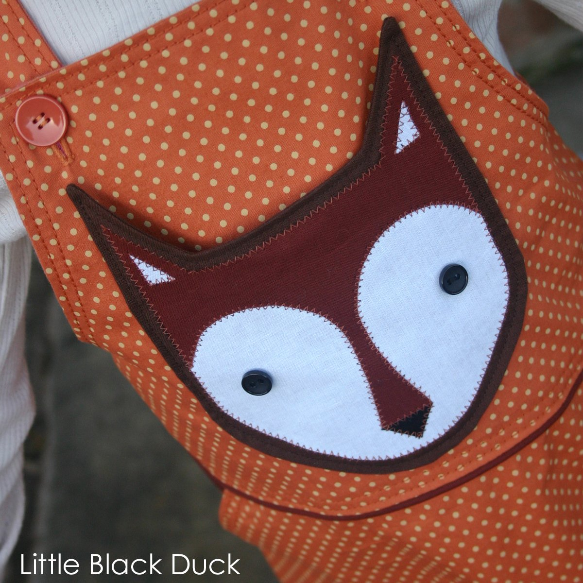 Applique Applique Fox Pocket Pattern Victoria Peat Little Black