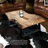 Natural Wood Coffee Tables - Rustic coffee table ...