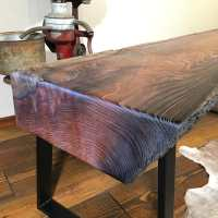Wood Slab Mantel 422 | Littlebranch Farm