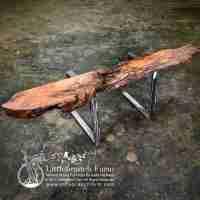 Driftwood Fireplace Mantel | 436 | Littlebranch Farm