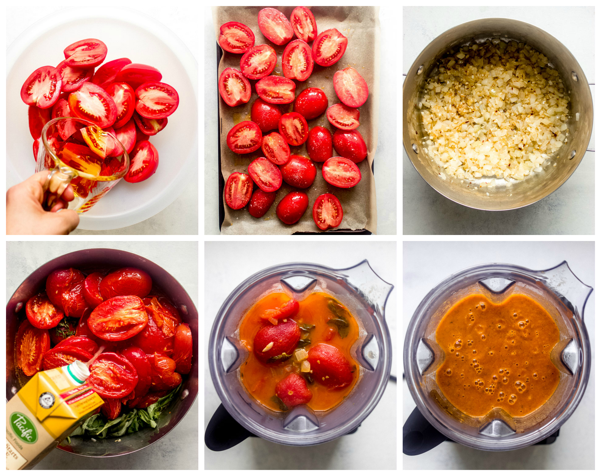 Ina Garten S Roasted Tomato Basil Soup Little Broken