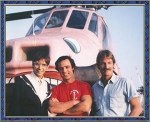 TV Show Riptide Helicopter