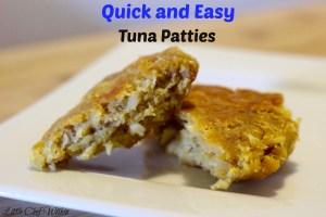 Quick & Easy Tuna Patties
