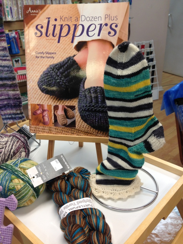 Turtle Purl at Knit Traders Kingston