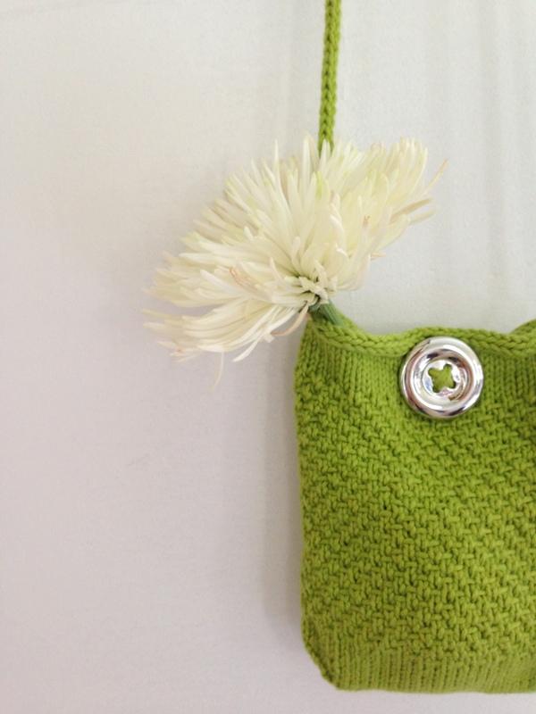 Free Pattern #10: Bean Sprout Bag