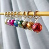 Marble Stitch Markers