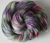 Purply yarn