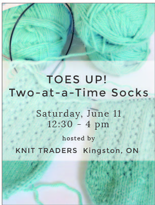 TOES UP! Two-at-a-Time Socks