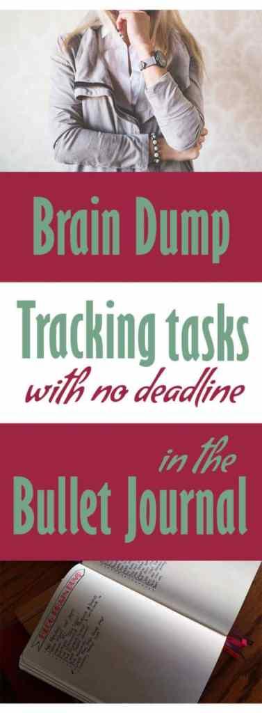 Brain Dump in the Bullet Journal   Littlecoffeefox.com
