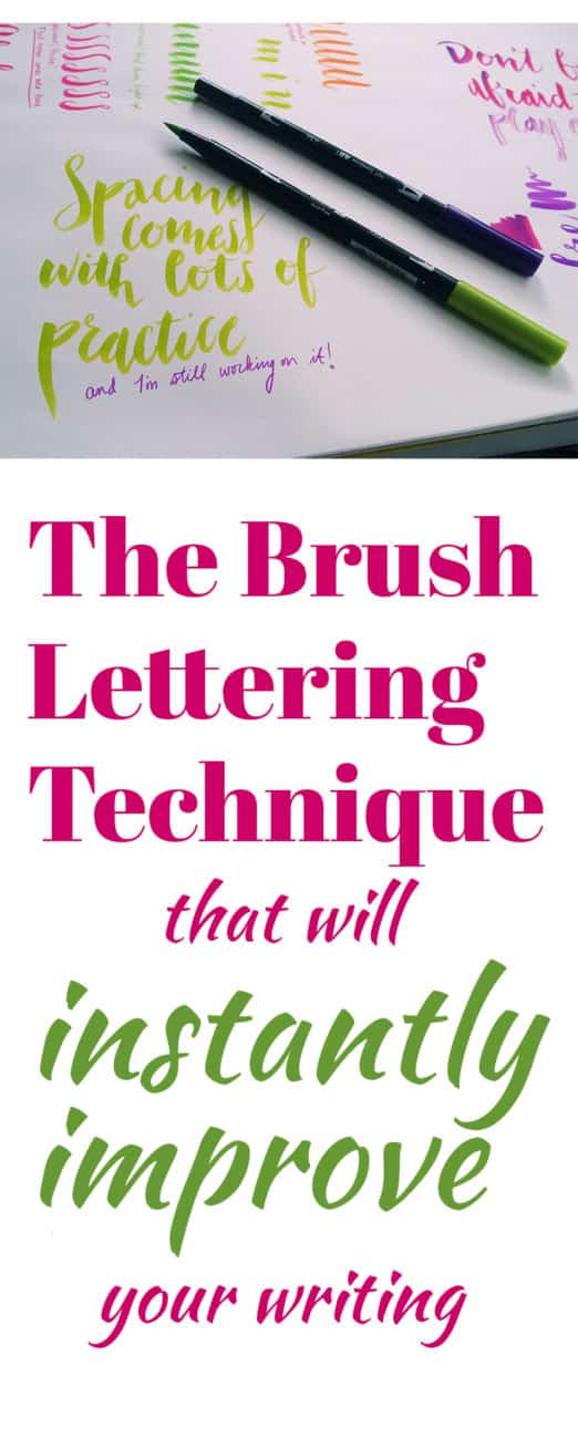 The Brush Lettering Technique That Can Instantly Improve Your - 2 week notice letter