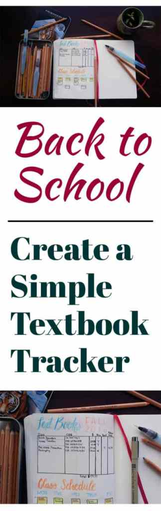 Going back to school is one of my favorite times of the year! I created a simple textbook tracker to help with finding, buying, and reselling textbooks. Keeping your textbook information is super handy and super simple!