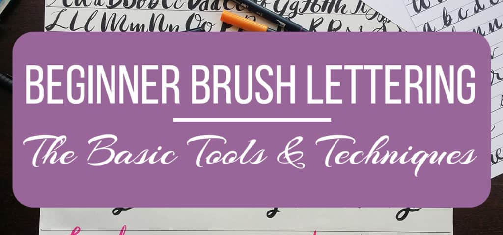 Beginner Brush Lettering - The Basic Tools and Techniques - how do you write a cover letter