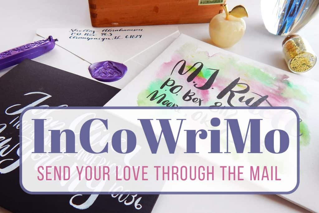 InCoWriMo - Send Your Love Through the Mail LittleCoffeeFox - notebook paper word template