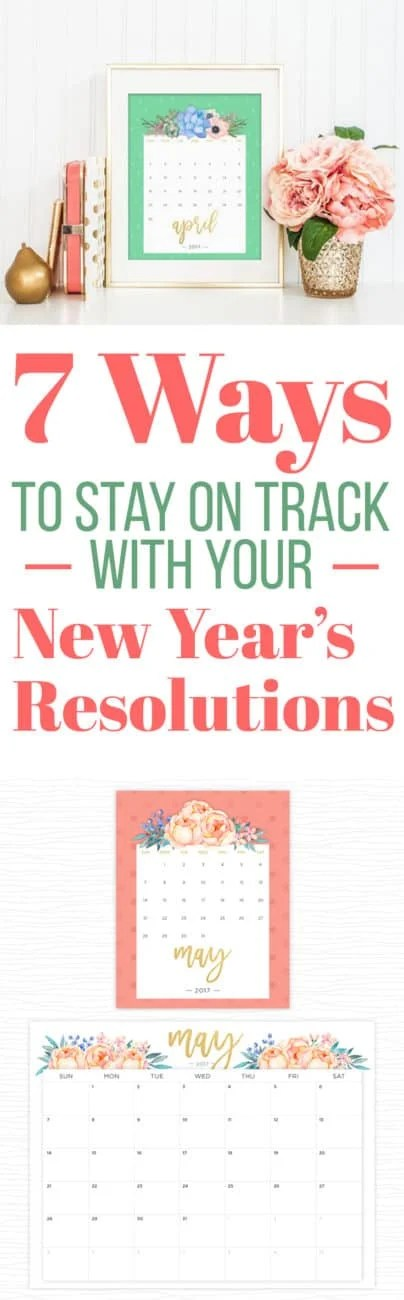 7 Ways to Stay on Track With Your New Yearu0027s Resolutions - printable grocery lists