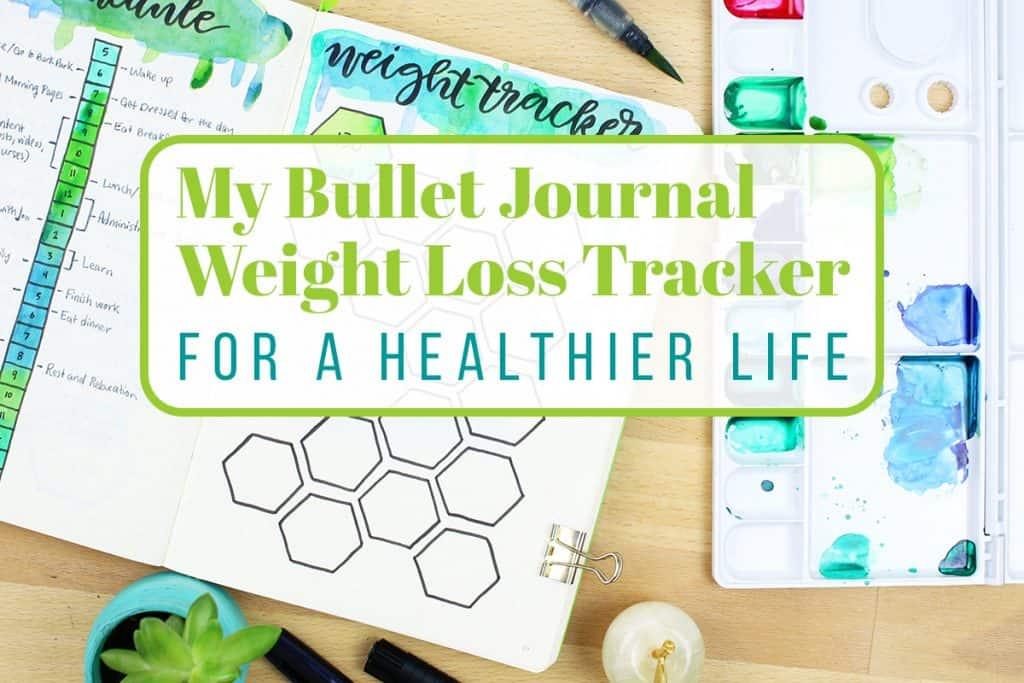 My Bullet Journal Weight Loss Tracker LittleCoffeeFox