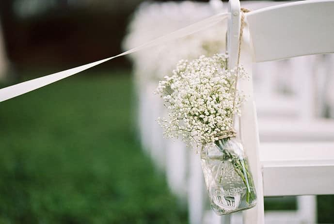 Planning a Wedding in the Bullet Journal Part One: Budget aisle decorations | Littlecoffeefox.com