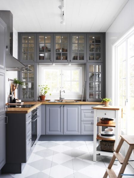 Ikea Küche Fronten Design Gray Kitchen Round-up