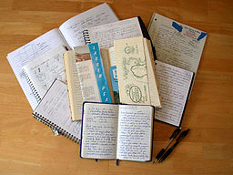 256px-Notebooks_and_journals