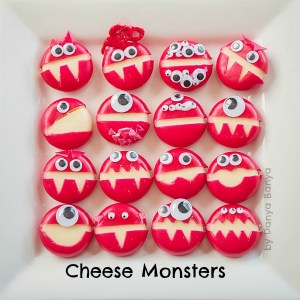 Cheese Monsters from http://www.danyabanya.com/cheese-monsters/