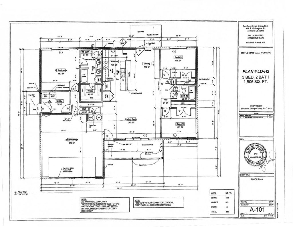 Help Design My Home Self Help Housing House Plans Little Dixie Community