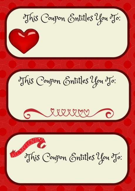 Love Coupons Template the 25 best love coupons ideas on pinterest