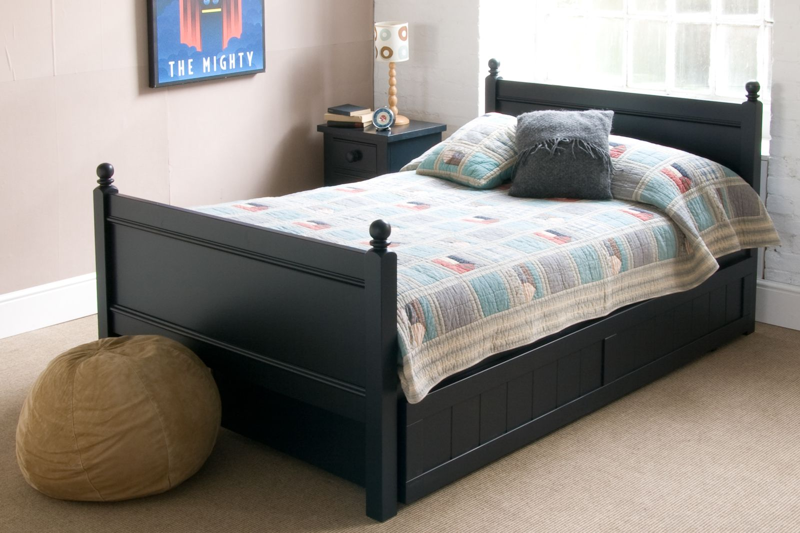 4ft Double Bed Size Fargo Small Double Bed 4ft With Storage Trundle