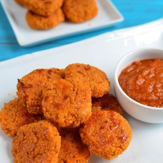 Little Grazers Cheesy Couscous bites - vegetarian, fussy eaters, kids meals, family meals, baby led weaning, blw