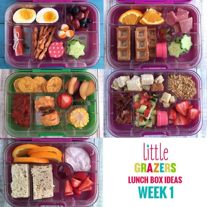 Lunch Box Ideas - Week 1