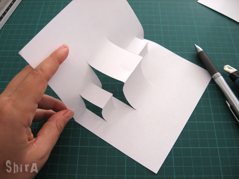 Pop-up tutorial #1 Box fold the Little Green Box