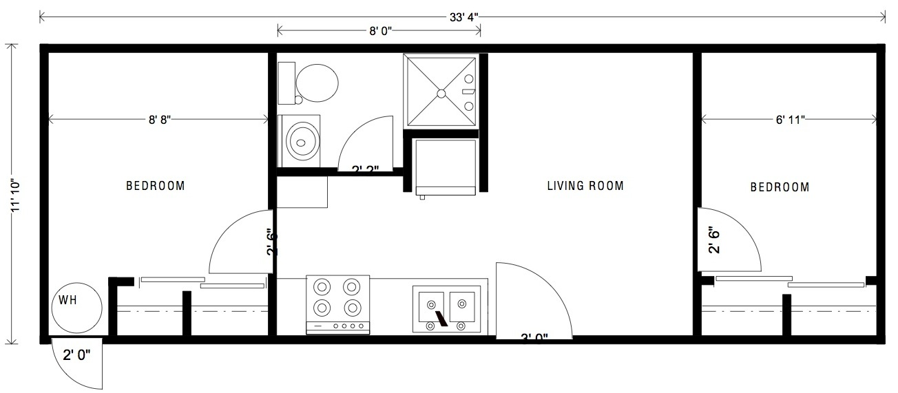 Garage with Studio Apartment Above (HWBDO67359) House Plan from - copy draw blueprint online free