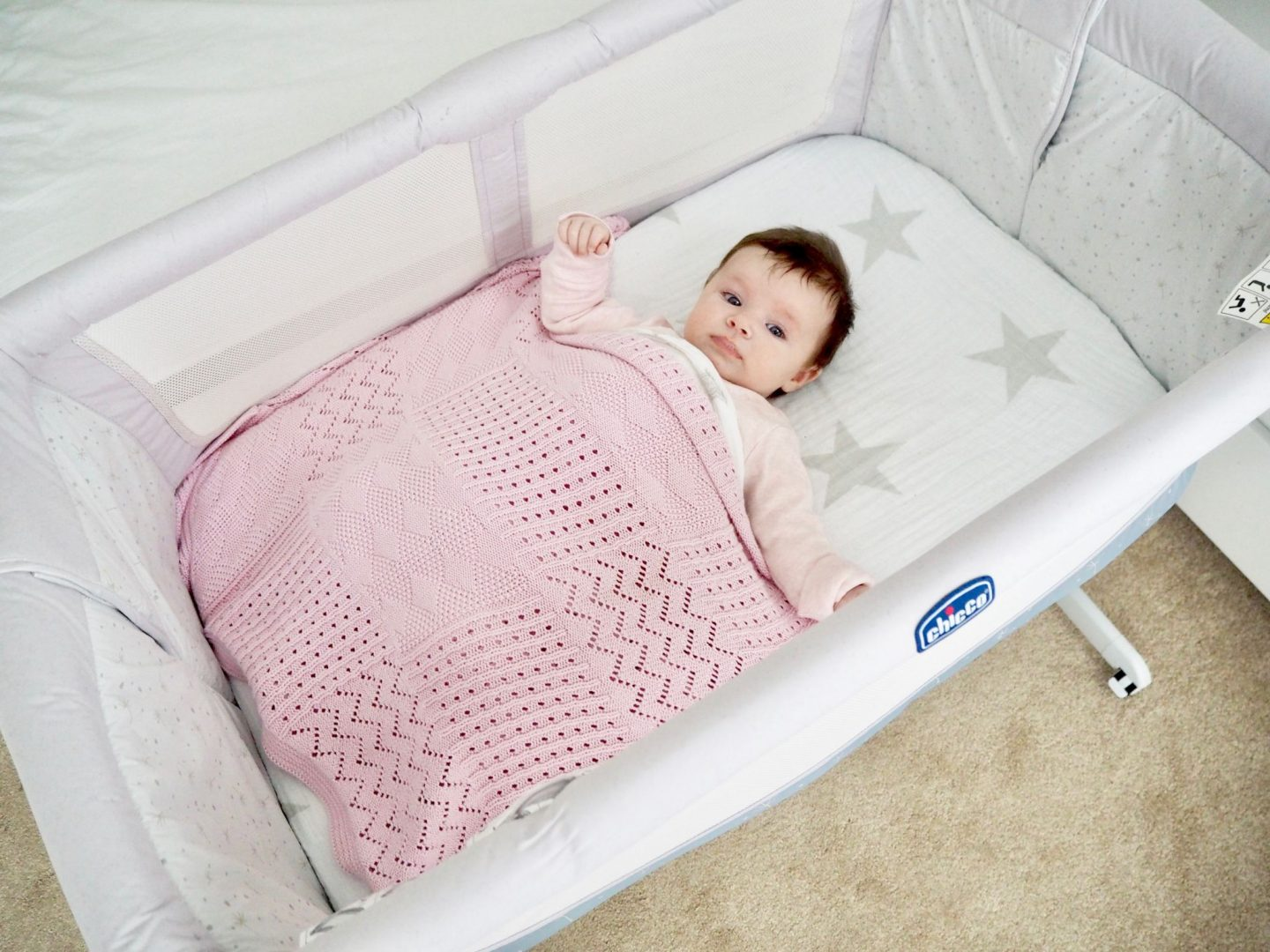 What Can Baby Sleep In Next To Bed First Impressions Of Chicco Next 2 Me Crib Little In The City