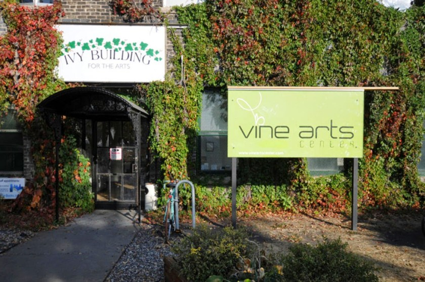 Vine Arts Center is located inside the Ivy Arts Building