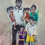Lattisima Family, Ubon Refugee Camp, 1980s