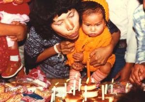 'Baci Baby' Saymoukda Vongsay,  1980s