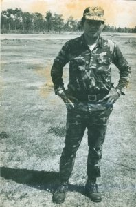 The Lao Military Man