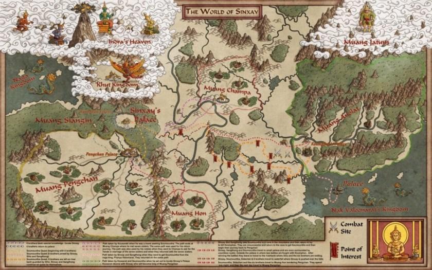 Sinxay World Map