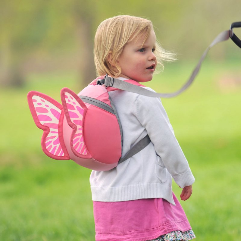 Baby Cots Next Butterfly Backpack With Rein Toddler Backpacks Littlelife