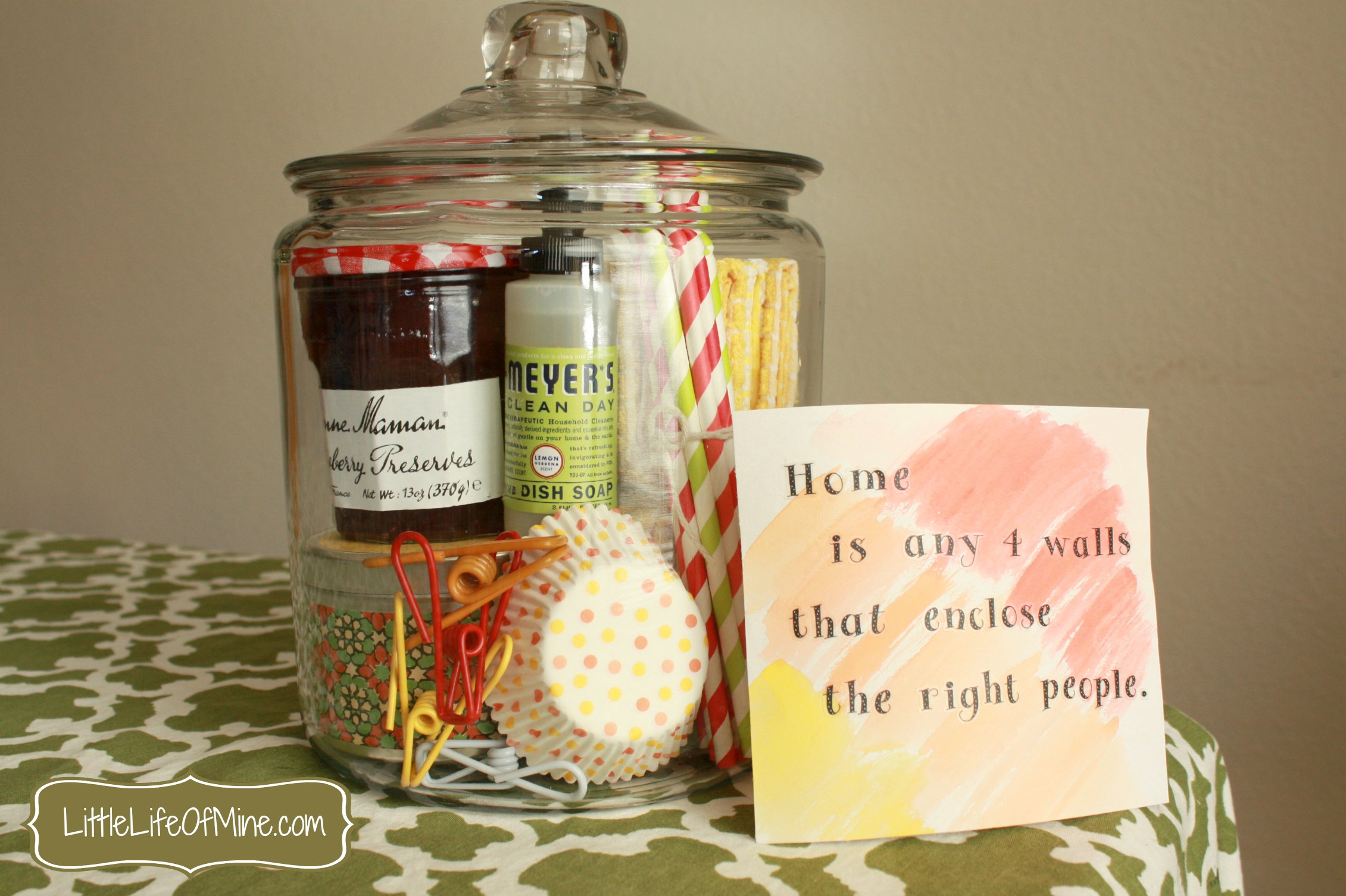 First House Gift Ideas Housewarming Gift In A Jar Littlelifeofmine