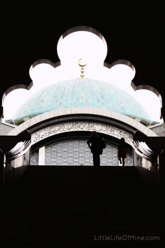 masjid wilayah silhouette