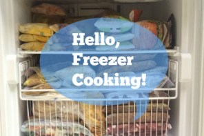 Freezer Cooking Intro